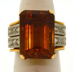 18KT Yellow Gold Vintage Ring