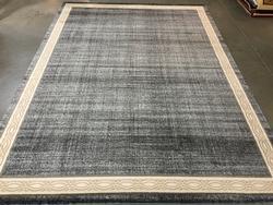 Decorative And Neutral Designer Series Grey Rug 8x11
