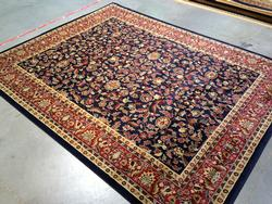 Detailed colorful Persian Sarouk Design 8x10 Area Rug