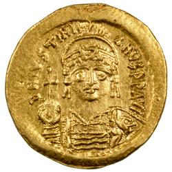 Justinian 1 Byzantine Empire Gold Solidus 527-565 AD