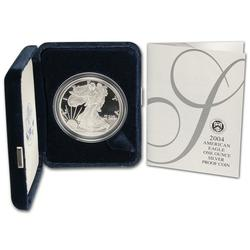 2004 Proof American Silver Eagle, OGP