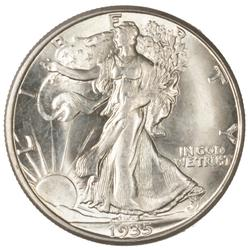 1935 D Gem BU Plus Walking Liberty Half