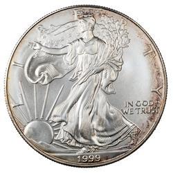 1999  Uncirculated Silver Eagle