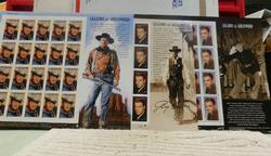 Stamp Sheets:  Legends of Hollywood  $22.80 face