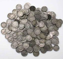 200 Unsearched Full Date Buffalo Nickels