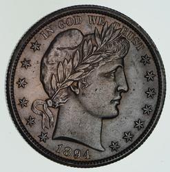 1894-O Barber Half Dollar - Not Circulated