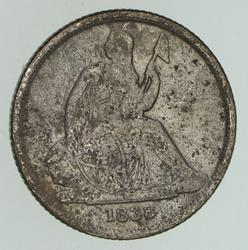 1838-O Seated Liberty Dime - Circulated