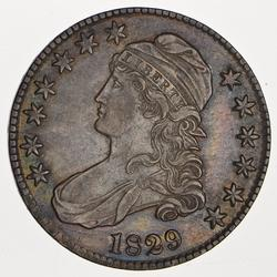 1829 Capped Bust Half Dollar - Circulated