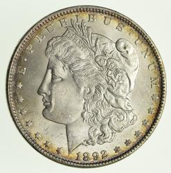 1892 Morgan Silver Dollar - Circulated