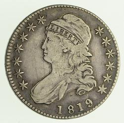 1819/8 Capped Bust Half Dollar - Circulated
