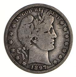 1897-O Barber Half Dollar - Circulated