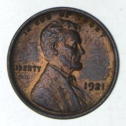 1921 Lincoln Wheat Cent - Uncirculated