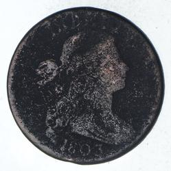 1803 Draped Bust Large Cent - Circulated