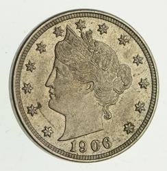 1906 Liberty V Nickel - Uncirculated