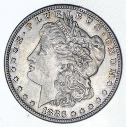 1883-S Morgan Silver Dollar - Sharp