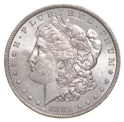 1881-O Morgan Silver Dollar - DMPL REV