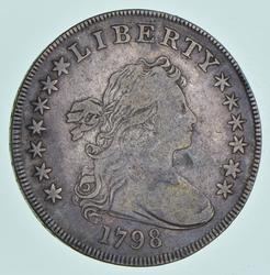 1798 Draped Bust Dollar