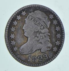1823 Liberty Cap Dime