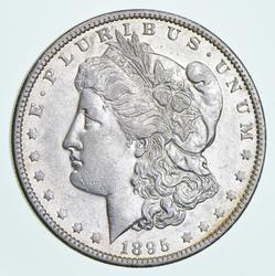 1895-O Morgan Silver Dolar
