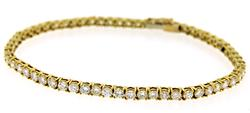 Luxurious 18kt 3.50ctw Diamond Tennis Bracelet