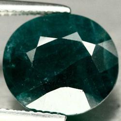 Large 5.89ct deep green Grandidierite