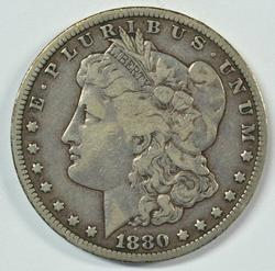 Scarce 1880-CC (Rev of 78) Morgan Silver Dollar