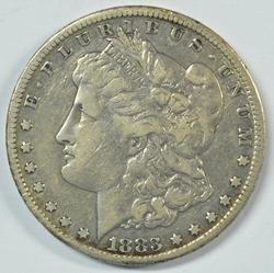 Great 1883-CC Morgan Silver Dollar. Key date