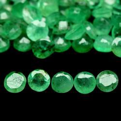 Large 7.16ct 65 piece Zambian Emerald parcel