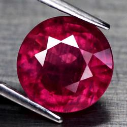 Top blood red 4.06ct Ruby solitaire