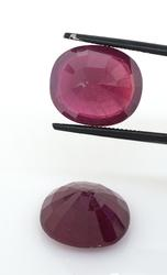 Great Set of 2 Oval Rubies, 24.03ctw