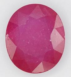 Large 7.50 Carat Ruby Solitaire Gemstone