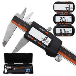Stainless Steel Digital Display Caliper 6 Inch Fraction