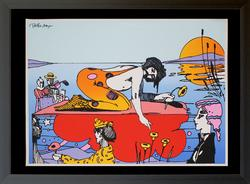 PETER MAX Sunday Afternoon