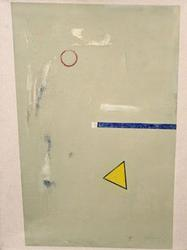 Untitled Abstract by Mark Wolak, Original Acrylic on Canvas