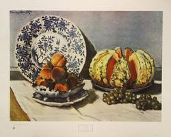 Still Life by Claude Monet, Poster