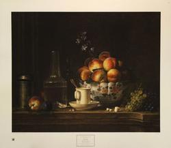 Still Life 1765, by Henri Horace Roland de la Porte, Poster