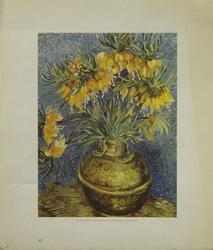 Flowers in a Vase, by Vincent van Gogh, Poster/Print