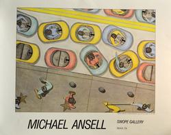 Michael Ansell, Swope Gallery, Exhibition Poster