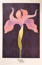 Susan Fiori, Exhibition Poster Cleveland Ohio, 1981/82