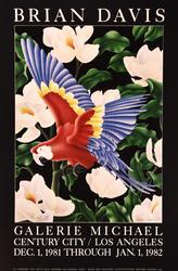 Brian Davis, Gallery Poster Los Angeles, 1981/1982