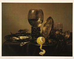 Still Life 1634 by Willem Claesz Heda, Poster