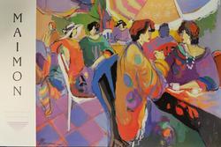 Isaac Maimon Romm Art Editions ltd, B&R International Art Poster