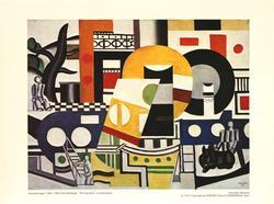 Fernand L?ger Poster, The Tug Boat