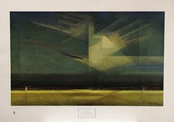 Lyonel Feininger Poster, Bird Cloud