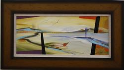 Alone Together by Alfred Gockel, Original Acrylic on Canvas