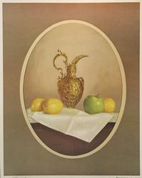 Gold Pitcher, by W.M. Acheff, Poster