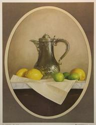 Silver & Citrus, by W.M. Acheff, Poster