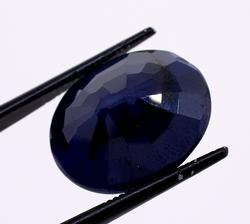 Exquisite 13.59CT Oval-Cut Sapphire