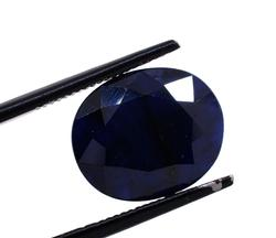 Incredible Set of Three Oval-Cut Sapphires, 19.32CTW