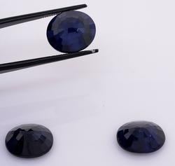Delightful Set of 3 Oval-Cut Sapphires, 21.65CTW